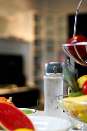 healthy by water Standard-Bild