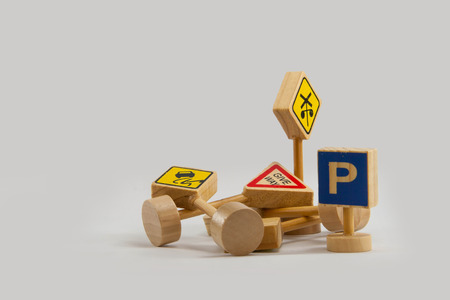 traffic signals Standard-Bild