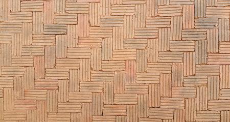 Red brick floor  illustration background - texture pattern