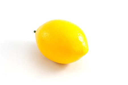 Lemon isolated on white background Standard-Bild