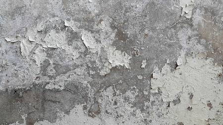 Color break pads on the old walls. Standard-Bild