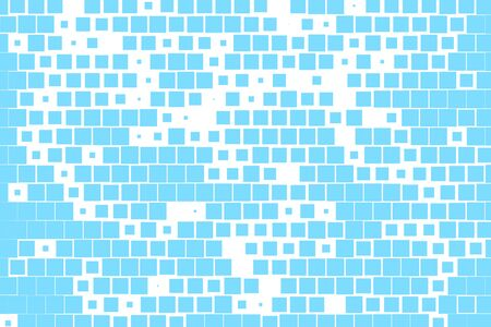 Abstract background. Blue geometric background. Vector illustration