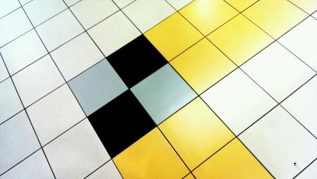 tile: Close up on floor tiles