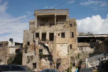Building in ruins photo