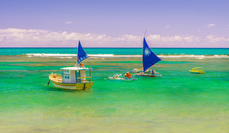Porto de Galinhas is one of the most beautiful beaches in the world. It is located in Recife, Pernambuco, Brazil.