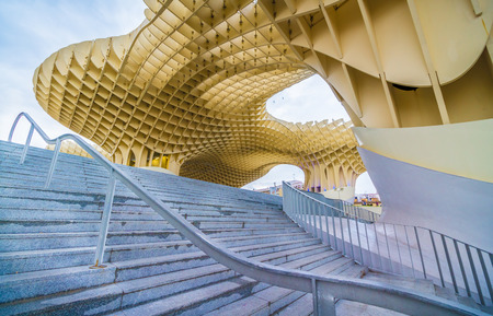 metropol parasol: Metropol Parasol is a wooden structure located in downtown Seville. It is one of the modern attractions of the city.