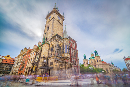 third world: The Old Town Hall, Prague, Czech Republic, is one of the most famous attractions in the city. It is located in Old Town Square, and holds third-oldest astronomical clock in the world.