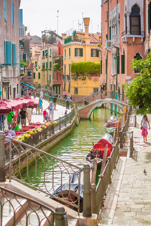 path ways: Venice is a city built over water, and its canals are the only path ways for transportation.