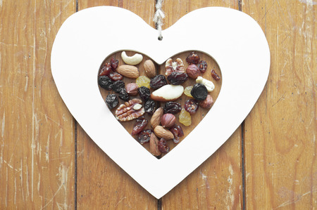 Heart, Nuts and Raisins photo