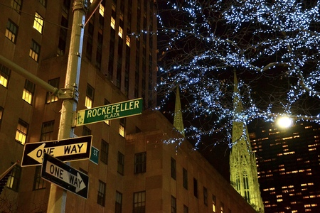 street signs: Street signs in Manhattan, New York City