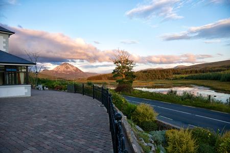 Mount Errigal Stock Photo