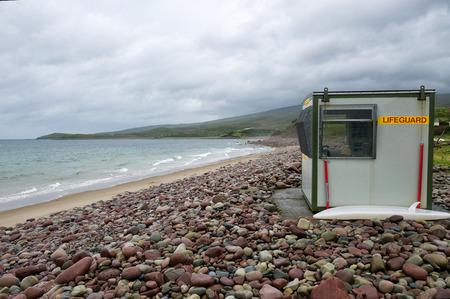 Lifeguard on the Irish Coast