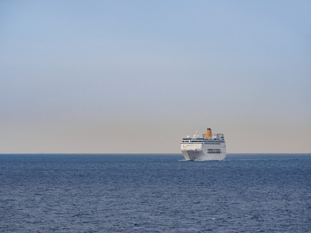 Ferryboat background.