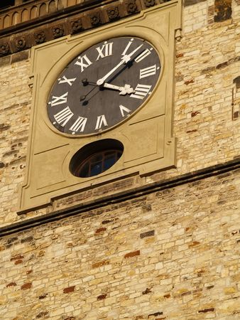 clock on tower