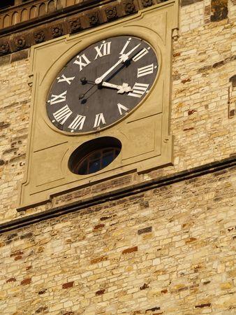 clock on tower