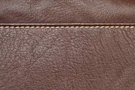Texture en cuir, fond de luxe brun