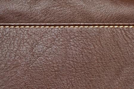 Texture en cuir, fond de luxe brun Banque d'images