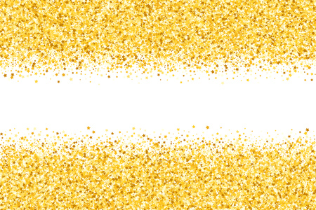 Golden glitters boarder design.