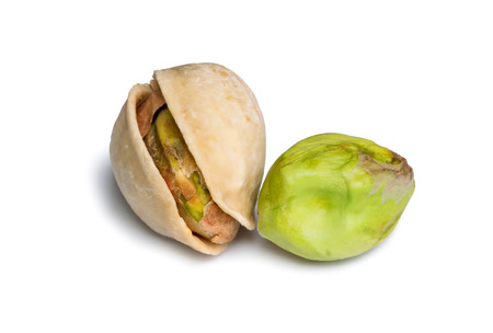 Pistachio isolated on white background Stock Photo