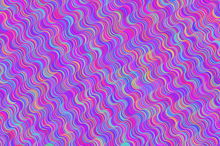 exemplar: Colorful curly wavy lines Stock Photo