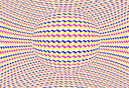 Exemplar: Colorful optical illusion
