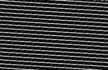 symetry: Optical illusion black and white lines