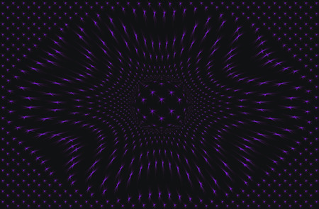 estrellas moradas: estrellas púrpuras en un fondo negro