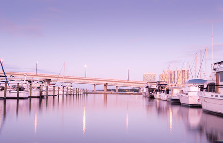 A basin downtown Fort Myers, Florida 写真素材