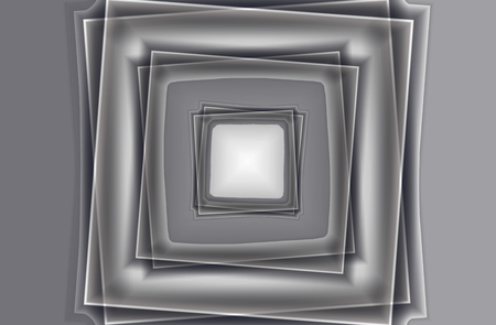 Offset square frames in a grayscale