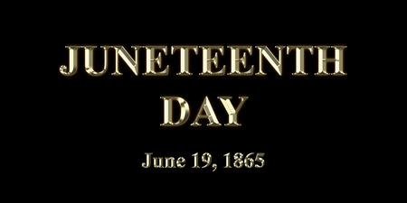 Juneteenth Day June 19th, 1865 写真素材