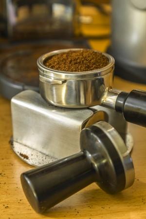 baionetta: baionetta riempito con terreno espresso