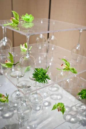 Wineglass Setting Imagens