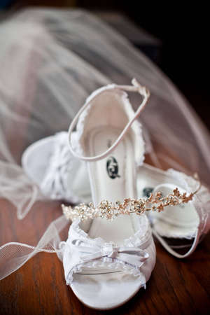 bridal shoes Reklamní fotografie - 5269915