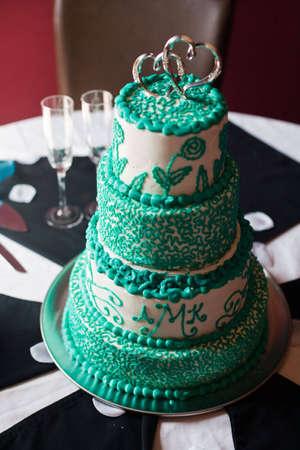 A gourmet cake