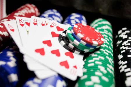 dealt: winning hand