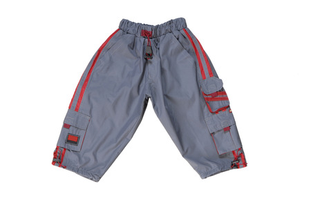 chinos: blue sports trousers for boy