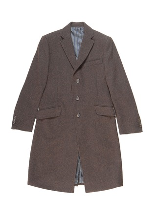 overcoat: Classical male topcoat  Stock Photo