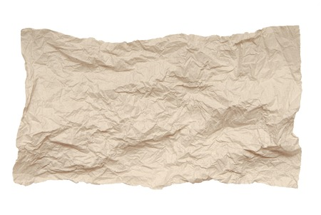 casing paper: It is a piece of crumpled paper