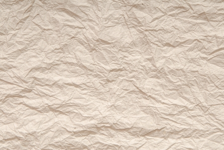 casing paper: It is a close-up of crumpled paper