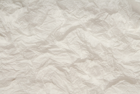 casing paper: White background is out of crumpled paper