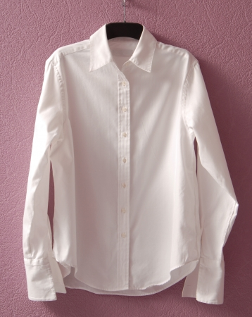 White chemise is on hanger  photo