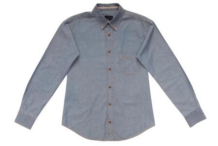gentleman's: Blue denim shirt
