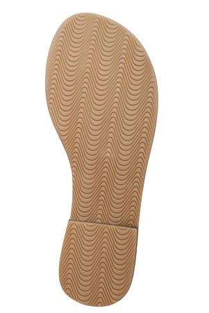 channeled: It is a fluted sole of a woman