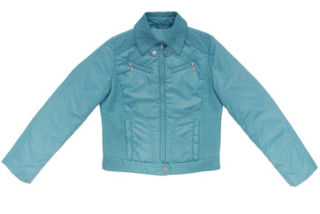 warm things: turquoise color jacket