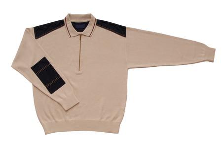 gentleman's: beige male sweater