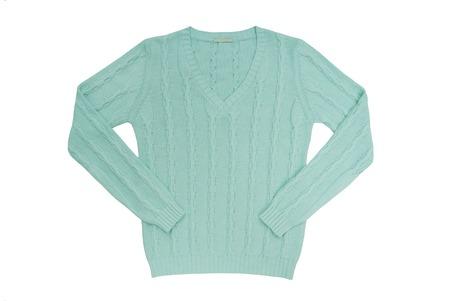 gentleman's: sea-green sweater