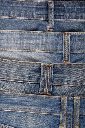 jeanswear: denim background Stock Photo