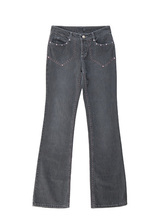 bell-bottomed jeans