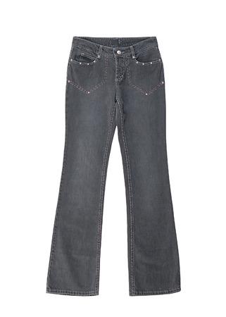 bell bottomed: bell-bottomed jeans