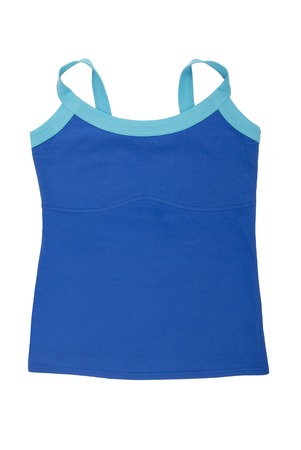 light blue lingerie: sports tee shirt